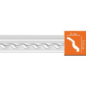 Профиль гибкий Decomaster DECOMASTER-2 цвет белый 40х54х2400 мм (95081 fl)