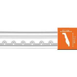 Профиль гибкий Decomaster DECOMASTER-2 цвет белый 41х73х2400 мм (95112 fl)