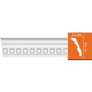 Профиль Decomaster DECOMASTER-2 цвет белый 41х88х2400 мм (95132)