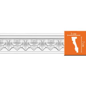 Профиль гибкий Decomaster DECOMASTER-2 цвет белый 30х70х2400 мм (95214 fl)