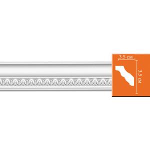 Профиль гибкий Decomaster DECOMASTER-2 цвет белый 35х35х2400 мм (95348 fl)