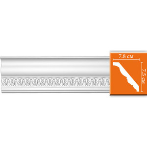 Профиль Decomaster DECOMASTER-2 цвет белый 78х75х2400 мм (95350)