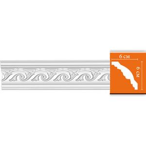 Профиль гибкий Decomaster DECOMASTER-2 цвет белый 60х60х2400 мм (95610 fl)