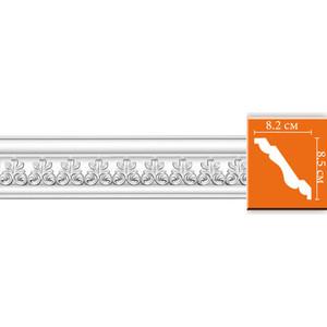 Профиль Decomaster DECOMASTER-2 цвет белый 82х85х2400 мм (95617)