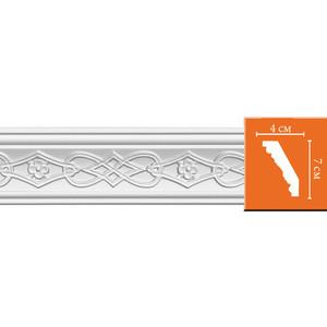 Профиль Decomaster DECOMASTER-2 цвет белый 40х70х2400 мм (95619)