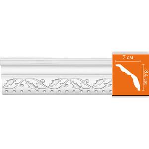 Профиль Decomaster DECOMASTER-2 цвет белый 70х84х2400 мм (95621)