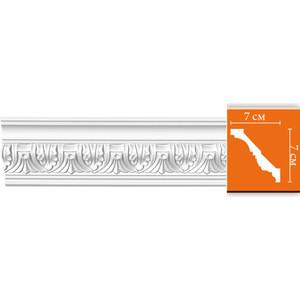 Профиль гибкий Decomaster DECOMASTER-2 цвет белый 70х70х2400 мм (95622 fl)