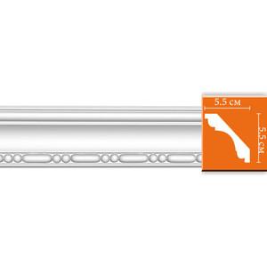 Профиль Decomaster DECOMASTER-2 цвет белый 55х55х2400 мм (95628)