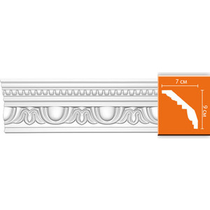 Профиль Decomaster DECOMASTER-2 цвет белый 70х90х2400 мм (95769)