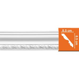 Профиль Decomaster DECOMASTER-2 цвет белый 85х85х2400 мм (95779) профиль decomaster decomaster 2 цвет белый 50х50х2400 мм 96118