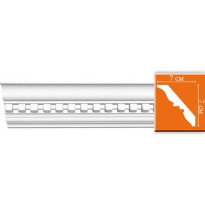Профиль Decomaster DECOMASTER-2 цвет белый 70х70х2400 мм (95810)