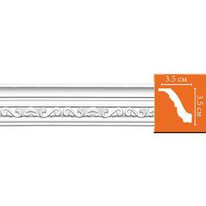 Профиль гибкий Decomaster DECOMASTER-2 цвет белый 35х35х2400 мм (95842 fl)