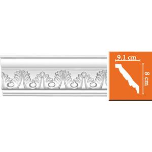 Профиль Decomaster DECOMASTER-2 цвет белый 91х80х2400 мм (95854)
