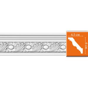 Профиль гибкий Decomaster DECOMASTER-2 цвет белый 45х67х2400 мм (95861 fl)