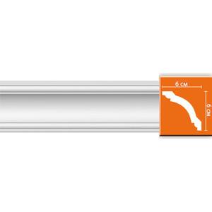 Профиль гибкий Decomaster DECOMASTER-2 цвет белый 60х60х2400 мм (96110 fl)