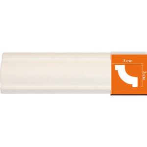 Профиль гибкий Decomaster DECOMASTER-2 цвет белый 30х30х2400 мм (96123 fl)