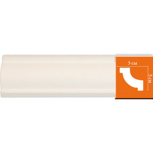 Профиль Decomaster DECOMASTER-2 цвет белый 30х30х2400 мм (96123)