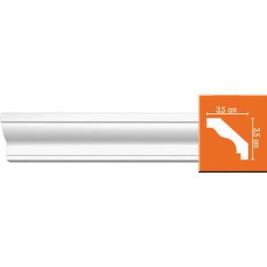 Профиль гибкий Decomaster DECOMASTER-2 цвет белый 35х35х2400 мм (96230 fl)