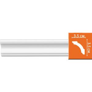 Профиль гибкий Decomaster DECOMASTER-2 цвет белый 35х35х2400 мм (96250 fl)
