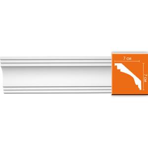 Профиль гибкий Decomaster DECOMASTER-2 цвет белый 70х70х2400 мм (96257 fl)