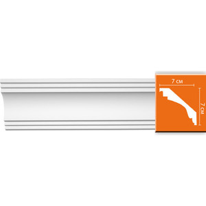 Профиль Decomaster DECOMASTER-2 цвет белый 70х70х2400 мм (96257)