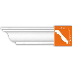 Профиль гибкий Decomaster DECOMASTER-2 цвет белый 45х45х2400 мм (96612 fl)