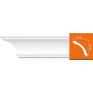 Профиль Decomaster DECOMASTER-2 цвет белый 74х74х2400 мм (96616) профиль decomaster decomaster 2 цвет белый 50х50х2400 мм 96118