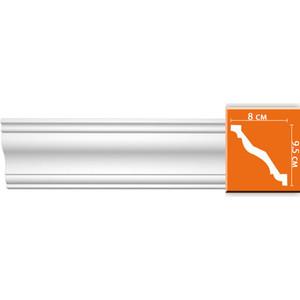 Профиль гибкий Decomaster DECOMASTER-2 цвет белый 80х95х2400 мм (96625 fl)