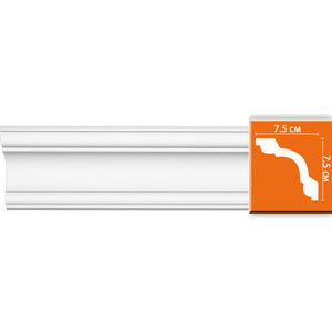 Профиль Decomaster DECOMASTER-2 цвет белый 75х75х2400 мм (96630)