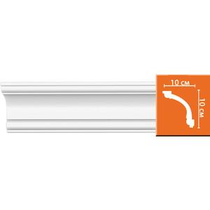 Профиль Decomaster DECOMASTER-2 цвет белый 100х100х2400 мм (96633) профиль decomaster decomaster 2 цвет белый 50х50х2400 мм 96118