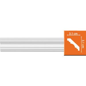 Профиль гибкий Decomaster DECOMASTER-2 цвет белый 31х31х2400 мм (96681 fl)