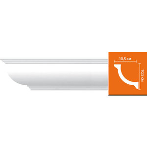 Профиль Decomaster DECOMASTER-2 цвет белый 105х105х2400 мм (96689)