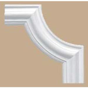 Угол Decomaster цвет белый 257х257 мм (97022-2)