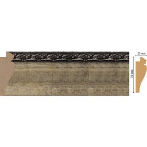 Багет Decomaster Ренессанс цвет 566 75х22х2900 мм (978-566)