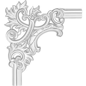 Угол Decomaster цвет белый 350х350 мм (97803-2L)