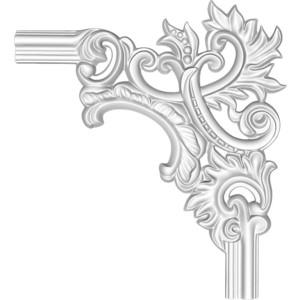 Угол Decomaster цвет белый 350х350 мм (97803-2R)