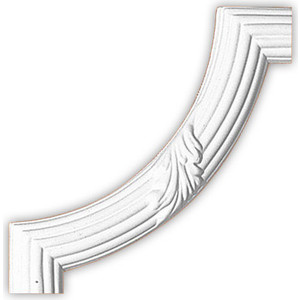Угол Decomaster цвет белый 290х290 мм (98020-2)