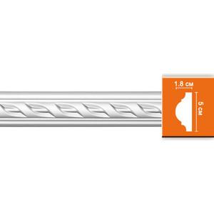 Молдинг Decomaster DECOMASTER-2 цвет белый 21х50х2400 мм (98061)