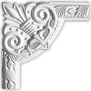 Угол Decomaster цвет белый 260х260 мм (98102-1)