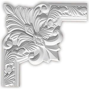 Угол Decomaster цвет белый 260х260 мм (98102-3)