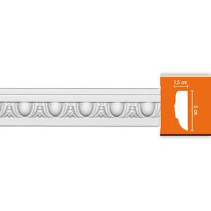 Молдинг Decomaster DECOMASTER-2 цвет белый 15х50х2400 мм (98202)