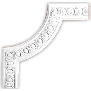 Угол Decomaster цвет белый 326х326 мм (98703-2)