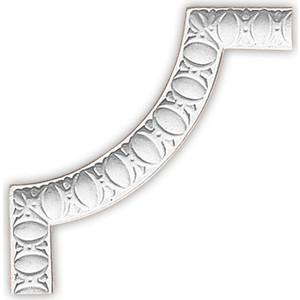 Угол Decomaster цвет белый 220х220 мм (98885-2)