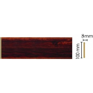 Панель Decomaster Красное дерево цвет 1084 100х9х2400 мм (B10-1084)