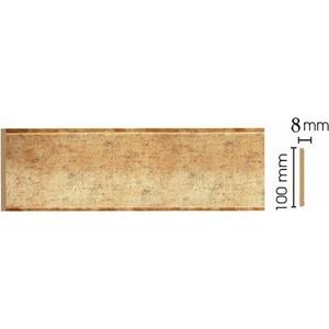 Панель Decomaster Античное золото цвет 552 100х9х2400 мм (B10-552) молдинг decomaster античное золото цвет 552 60х22х2400 мм 161 552