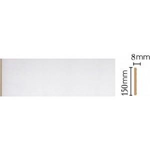 Панель Decomaster Дуб белый с золотом цвет 118 150х9х2400 мм (B15-118)