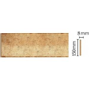 Панель Decomaster Античное золото цвет 552 150х9х2400 мм (B15-552) молдинг decomaster античное золото цвет 552 85х25х2400 мм 152 552