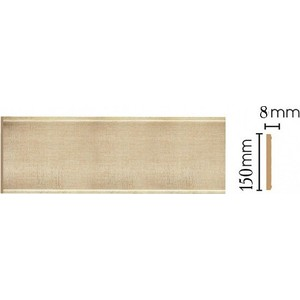 Панель Decomaster Матовое золото цвет 933 150х9х2400 мм (B15-933)