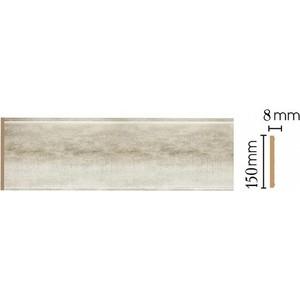 Панель Decomaster Матовое серебро цвет 937 150х9х2400 мм (B15-937)