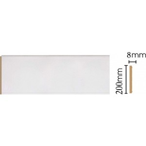Панель Decomaster Белый цвет 115 200х9х2400 мм (B20-115)